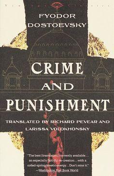 Crime and Punishment, Dostoevsky