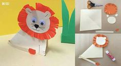 Easy Paper Craft Ideas for Kids with DIY Tutorials Man Crafts, Cute Crafts, Diy And Crafts, Diy Craft Projects, Projects For Kids, Craft Ideas, Paper Roll Crafts, Paper Crafts For Kids, Kids Party Decorations