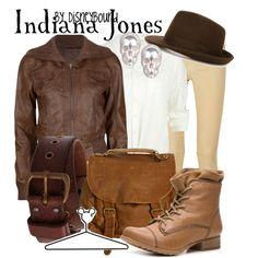 """Indiana Jones"" by lalakay on Polyvore #disney"