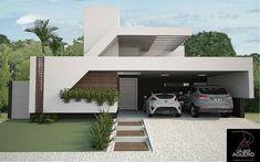 """Projeto Arquitetônico Residencial Unifamiliar Local: Condomínio Damha III _ Campo Grande/MS  Equipe de projeto: Arq. Dalber Agüero  #architect…"""