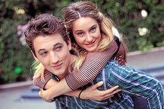 Miles Teller & Shailene Woodley.