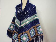 Shawl Motif style color of Blue by Namaoy on Etsy, $65.00