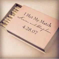 Wedding favors!