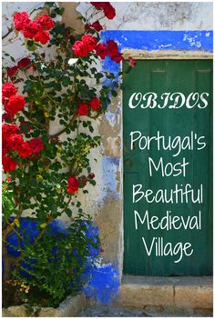 An hour away from the hustle and bustle of Portugal's capital city lies the medieval village of Obidos. Cobblestone streets, fortified walls, and the local liqueur ginjinha (or ginja) await visitors to this charming town.
