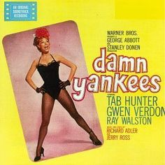 """""""Damn Yankees"""" (1958, RCA).  Music from the movie soundtrack."""