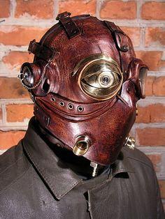 Steampunk mask!