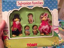Sylvanian Families TOMY UK Waddlington Duck Family Boxed 1998