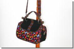 Ausführliche, fotounterstützte Nähanleitung für eine kleine Tasche 30 x 20 x 12 (BxHxT) im Doktorkoffer- Design.
