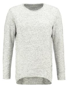 Jack & Jones - REGULAR FIT - Strickpullover - whisper white