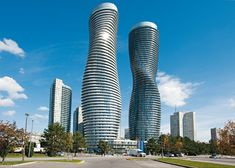 Absolute World Building D - Ontario Canada  175.6 meter, 56 fl, completed 2012, Burka Architects