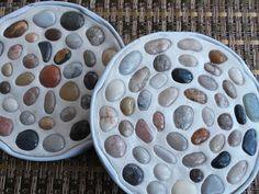 Tvoření s dětmi - Podtácky z kamínků