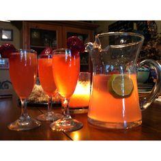 Moscato, Sprite, Pink Lemonade.. Delicious :)