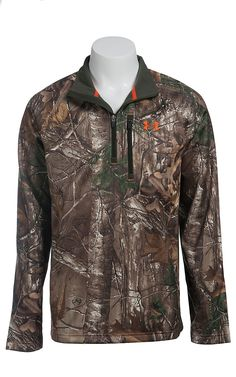 Under Armour Men's Realtree UA Camo Performance 1/4 Zip Pullover