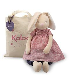 Rabbit Doll & Tote