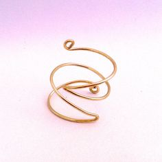 Angled Wire Wrap  Knuckle Ring  Dainty by VSXNSTA on Etsy, $6.00
