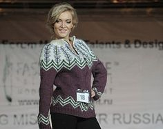 This is the Lopapeysa Hand knitted Cardigan named as Fish Bone, inside my collection Nature in the City, was shown in the Designers Forum in Moscow on January 2013. The Sweater Is knitted of 100% Icelandic Wool Lett Lopi (Istex). Not typical design for this type of sweaters, isnt it? Therefore a lot of people were interested in my patterns and asked about it. Here it is, dear lopi knitters)) The digital file is made in PDF format and includes description in English for sizes XS, S, M, L, XL…