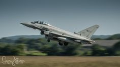 """ Quick Getaway "" - Italian Airforce Ef-2000 Eurofighter, Nato Tiger Meet 17."