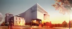 Space Group / Brisac Gonzalez wins joint first prize in competition for Kristiansund Opera and Culture House