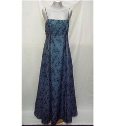 Betsy and Adam - Size: 10 - Grey/blue - Prom dress