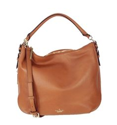 Kate Spade New York Cobble Hill Luxe Leather Ella Convertible Bag, Warm Cognac List Price: $468.00 Our Price: $340.00 Savings: $128.00