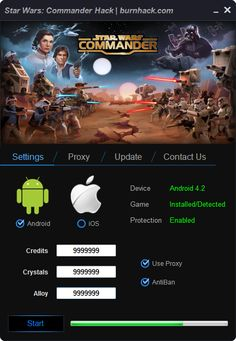 Star Wars: Commander Hack Tool Credits Cheat Android   http://burnhack.com/star-wars-commander-hack-tool-credits-cheat-android/