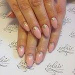 #eclair  #nude  #nails  #nailart  #nailporn  #nailswag