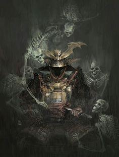 Samuray encantado