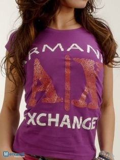 ARMANI EXCHANGE T-SHIRT WOMEN (70714) - Stock abbigliamento | Merkandi.it