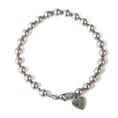Silver Beaded Bracelet | Pretty Green | Designer fashion from Liam Gallagher