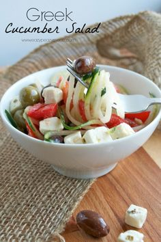salad with hummus dressing olives capers and feta from kalyn s kitchen ...