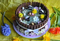 Easter Eggstravaganza Cake | My Feature On Wayfair Inspiration ♥