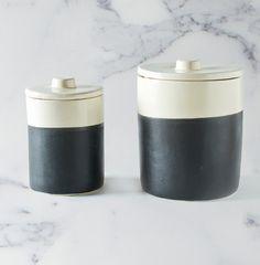 Chalk Board & Ceramic Storage Jars - HomeMint