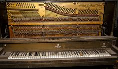 I took this Vintage 1870's Weber Player Piano  photograph while on walk in our neighborhood. The owner was sending it to the dump, but before he did, I asked I could take some pictures of it and he said shoot away. He said it was built in the 1870's by the Weber Piano Company of New York.    http://fineartamerica.com/featured/vintage-1870s-weber-player-piano-fine-art-photograph-print-jerry-cowart.html?newartwork=true
