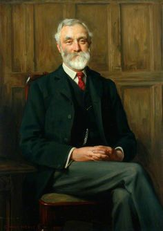 Portrait of Ralph Brocklebank, Director, London and North Western Railway by George Hall Neale (British 1863–1940)