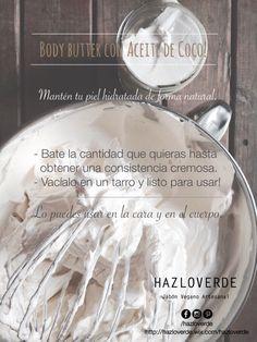 Nutre tu piel de forma natural con aceite de coco!
