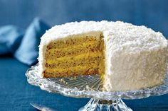 You can make the custard and cake for this shaggy white-on-white dream two days ahead and assemble the final product at your leisure. Just don't throw away the egg whites — you'll need them for the buttercream!