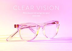 Clear Vision - Were obsessed with springs new specs! Shop Now