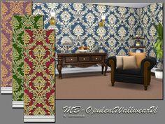 MB Opulent Wallwear U Set by matomibotaki at TSR via Sims 4 Updates