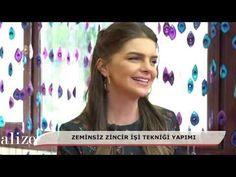 Zincir işi şala etkili ve güzel bir örnek - Effective and beautiful pattern to chain work shawl - YouTube