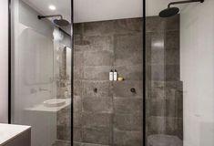 Built In Shower Shelf, Shower Shelves, Room Tiles, Wall Tiles, Wall Ledge, Open Showers, Double Shower, Bathroom Interior Design, Bathroom Inspiration