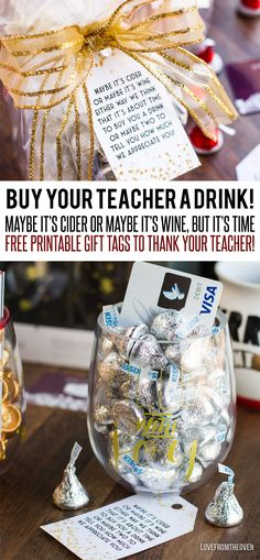 Free Printable Teacher Wine Glass Gift Tags
