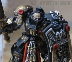 From the Warp: Grey Knight Terminator half helmet conversion
