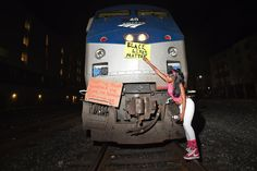 Protesters stop Amtrak train, halt freeway traffic in Berkeley  More than 150 people were arrested overnight in Berkeley as hundreds of activists forced an Amtrak train to stop as another group brought both directions of Interstate 80 to a standstill on Monday night in protest against two grand jury decisions not to indict white police officers in the...  http://www.latimes.com/local/lanow/la-me-ln-berkeley-protests-20141209-story.html