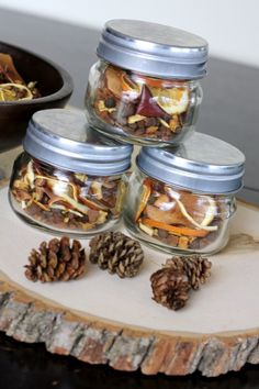 Make Your Own Fall Potpourri | Homes.com Great DIY project that you can do for yourself or as a gift for others!