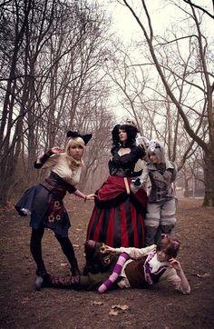 Alice in Wonderland #Steampunk #Cosplay #Xerposa.