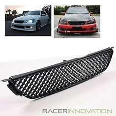 For 01 05 Lexus IS300/Toyota Altezza VIP Style Honeycomb Sport Hood Grill  Grille