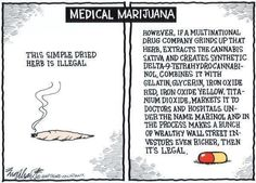 Medical Marijuana: the hypocrisy of our government and corporatism.