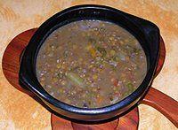 Best Cuban Recipes & Food! Cuban lentil soup (sopa de lentejas)