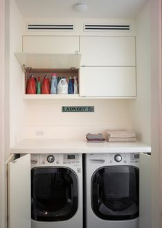Cole modern laundry room - this is just so gorgeous. I'm tempted to do a combined bathroom laundry and minimise the space given to the laundry