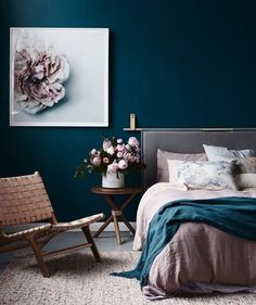 As you noticed, the combination between green and blue is very trendy and can come to different effects. Paint is the easiest and fastest way to completely makeover your space